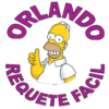 Orlando requetefacil simpsons2